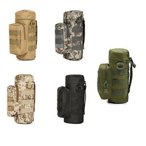 Outdoor-Camp-Tactical-Military-Water-Bottle-Pouch-Kettle-Portable-Bag-Holders-x1
