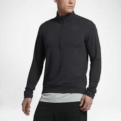 NIKE MEN/'S SIZE XL DRY DRI-FIT 1//4 ZIP PULLOVER TRAINING TOP 860477 010 NWT