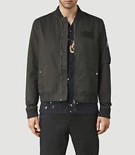 NWT ALLSAINTS AllSaints Colton Bomber Jacket Anthracite Grey Size S $360