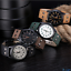 Men-Vintage-Quartz-Watches-with-Leather-Band-Fashion-for-Date-Dress-Business thumbnail 4