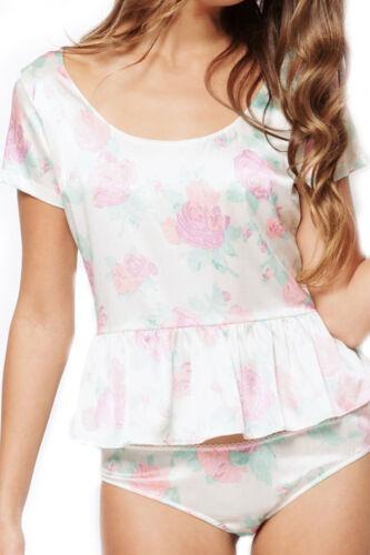 Imprim Zinke Rose Femmes Intimates Florale 1v7FBqv