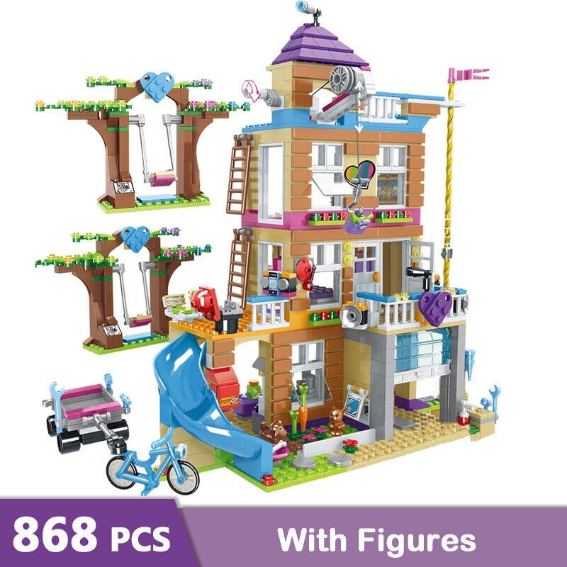 Friends Friendship House 41340 868pcs Building Blocks Bricks model With Figure