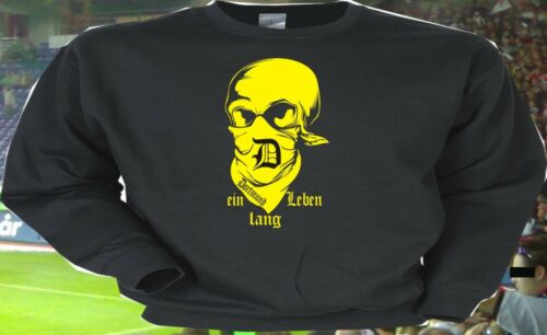 Sweatshirt témája Dortmund pendant toute une vie pour tous les hooligans ultras ruhrpott