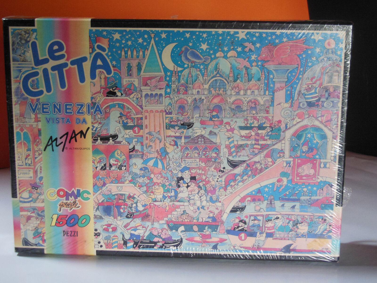 Puzzle Venezia Vista da Altan 1500 pezzi Franco Panini Carterie made in Italy | Léger  | Sortie  | Offre Spéciale  | Brillance De Couleur