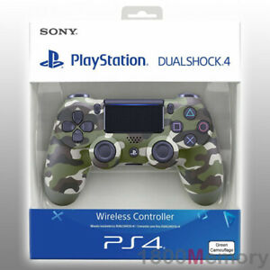 GENUINE-Sony-PS4-PlayStation-4-DualShock-4-Wireless-Controller-Green-Camouflage