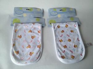 Baby-burp-towel-2-Pack-Disney-Dribble-Bandana-Bib-White-Winnie-the-Pooh