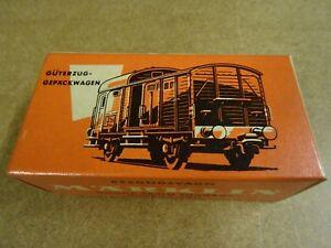 MARKLIN-MARKLIN-HO-4600-BOXED-GOODS-TRAIN-LUGGAGE-GUARD-039-S-VAN