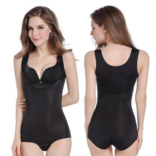 Women Slim Body Control Shaper Seamless Shapewear Underwear Sleepwear Bodysuit