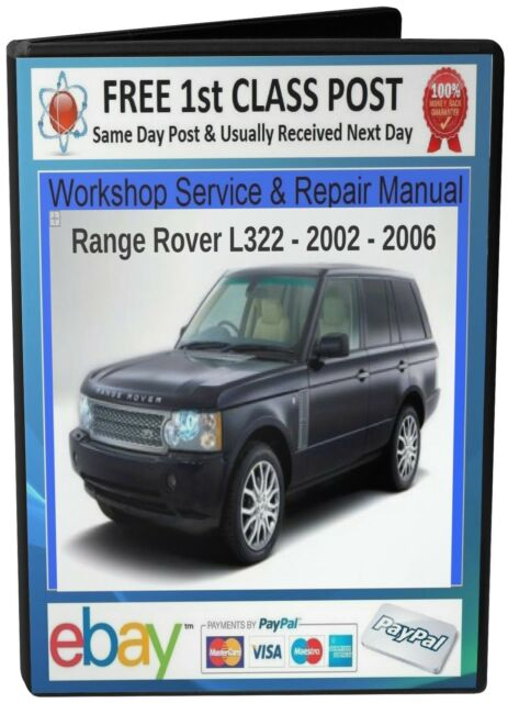 range rover l322 u2022 land rover workshop service repair manual 2002 rh ebay co uk 2002 land rover freelander manual pdf 2002 range rover owners manual pdf