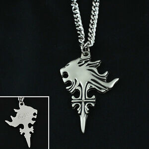Lionheart Pendant Final fantasy viii ff8 cloud lion heart head cosplay amulet pendant final fantasy viii ff8 cloud lion heart head audiocablefo