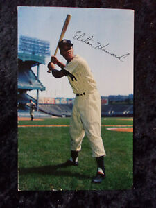 1956-Elston-Howard-New-York-Yankees-Autographed-Signed-Dormand-Post-Card