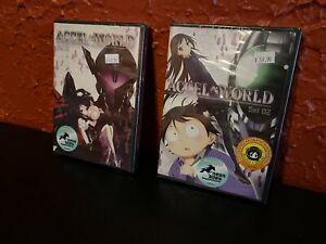 Accel-World-Complete-Series-Set-01-amp-02-DVD-New-And-Sealed