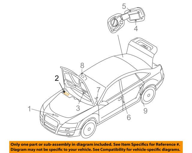 audi oem 05-08 a6 quattro labels-vacuum hose diagram 06c010513a