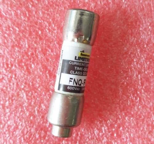 7.5 AMP FNQ-R-7-1//2 FNQR 7-1//2 7-1//2A 600Vac Bussmann Time Delay Fuse