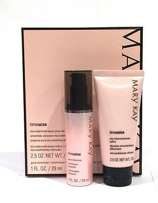 Mary Kay Timewise Microdermabrasion Plus Set Nib Pore Minimizer