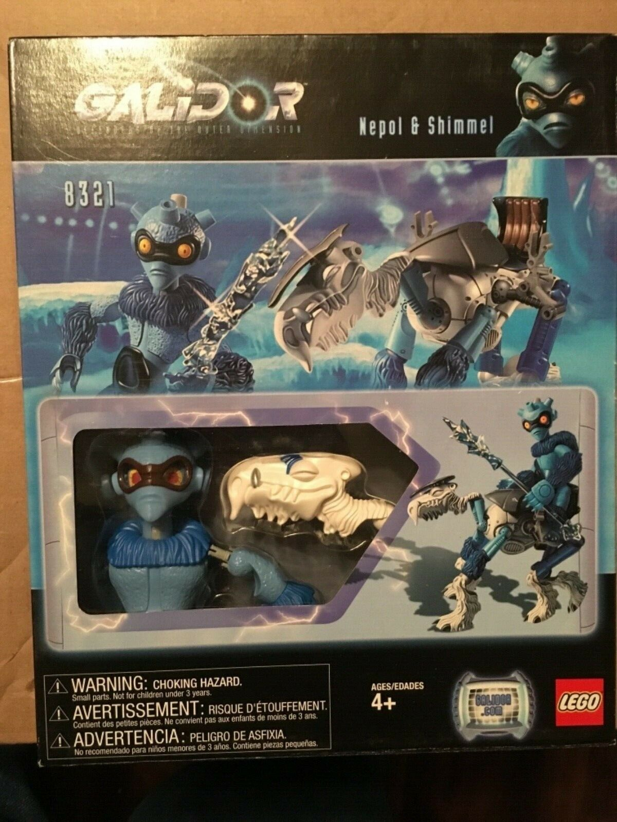 New LEGO LEGO LEGO 8321 Galidor Defenders of Outer Dimensions Nepol & Shimmel Building Set 4dace2