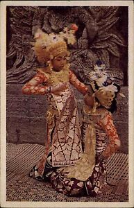 INDONESIEN-Vintage-Postcard-Nederlandsch-Indie-um-1940-45-Natives-Asien-Asia