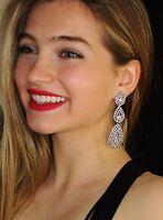Kate Spade Silver Bourgeois Christmas Bow Stud Earrings & Chandelier Dangle Lot