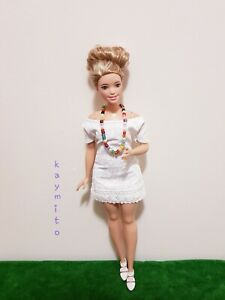 New-Curvy-white-floral-dress-for-Your-Curvy-Barbie-Doll-Au-Made