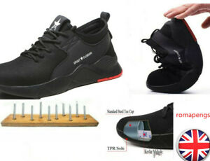 Mens-Safety-Steel-Toe-Cap-Mesh-Shoes-Womens-Work-Protective-trainers-Hiking-Shoe