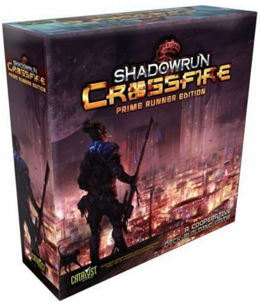 Shadowrun Crossfire Prime Coureur Édition - Jeu de Cartes Jeu
