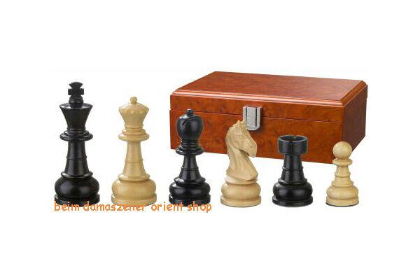 Holz Schachfiguren Figuren gewichtet Springer handgeschnitzt handgeschnitzt handgeschnitzt Ludwig XIV KH 65 mm 6364fb
