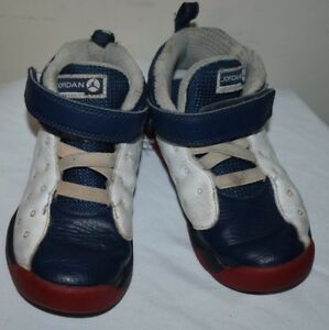 e0f1ca0417f05f Nike Air Jordan Jumpman Team II 2 Toddler Size 10C Navy Red Sneakers ...