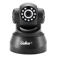 Wireless IP Camera Pan Tilt Free DDNS Smartphone Audio Night Vision WiFi US Sent