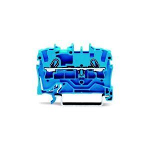 WAGO-2002-1204-2-Conductor-EXTRA-E-II-Hasta-Bloque-Terminal-Azul