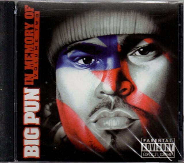 BIG PUN. IN MEMORY OF VOLUME 2. BRAND NEW CD ALBUM.
