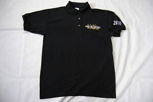 100% QualitäT Paul Mccartney Embroidered Up & Coming Tour Breast Logo Polo Shirt New Official