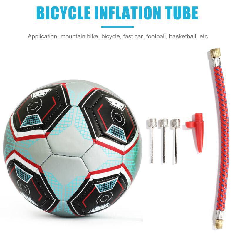 INFLATOR NEEDLES Set Air PumpHose Sports Ball Bike Cycle Kit