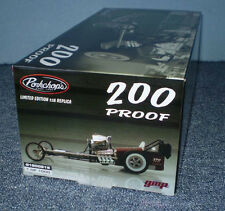 1/18 GMP Dragster Two Hundred 200 Proof Pork Chop Rail Blower #1800815 Diorama