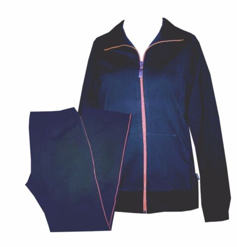 Schneider Sportswear Regula Damen Trainingsanzug Anzug Hausanzug blau Gr 40 //42