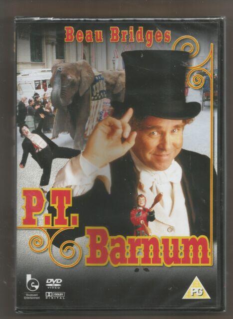 P.T. BARNUM - Beau Bridges - UK DVD (179m) - sealed/new