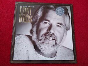 KENNY-ROGERS-We-039-ve-Got-Tonight-12-034-Vinyl-LP-Album-1983-UK-Excellent-condition