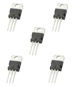 5 x lm317 positive voltage regulator 1 25v to 37v 1 5a ic 3 pin to