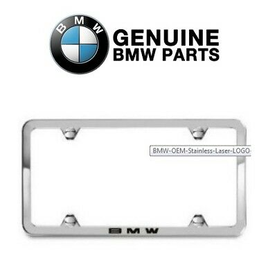 OEM Q6880124 License Plate Frame Polished Stainless Steel for Mercedes Benz