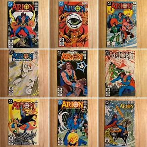 Arion-Lord-of-Atlantis-1-12-DC-Comics-12-Issues-Total