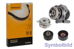 CONTI Zahnriemen+Rollensatz+Wasserpumpe für AUDI A3,A4,A6,TT; SKODA OCTAVIA II