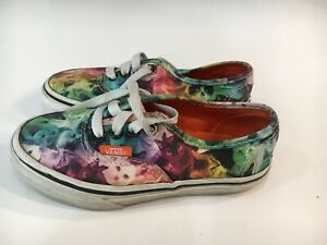 Details about Vans Size 12 Kids Boys Girls Limited Edition ASPCA Rainbow Cats Skate Shoes