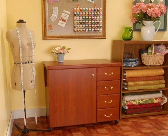 Arrow Norma Jean Sewing Cabinet Fits Bernina 8 Series 830 880