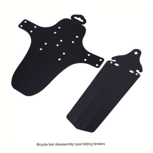 1 Pair Cycling MTB Mountain Bike Bicycle Front+Rear Mud Guards Mudguard Fenders