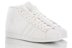 adidas Herren Superstar Pro Model Hohe Sneaker: