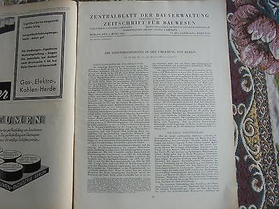 1933 ...bauverwaltung 9 / Großraum Berlin Industrieansiedlungen Schrumpffrei