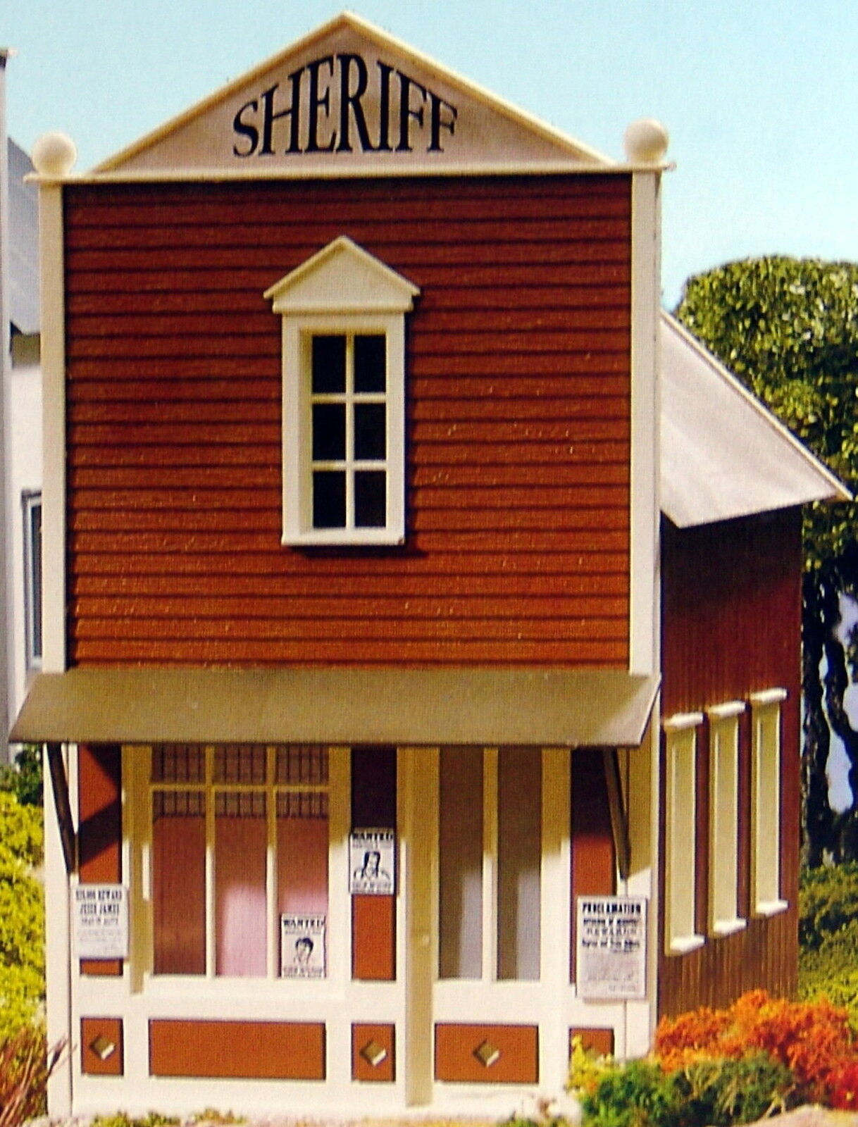 PIKO SHERIFF'S OFFICE  G Scale Building Kit New in Box
