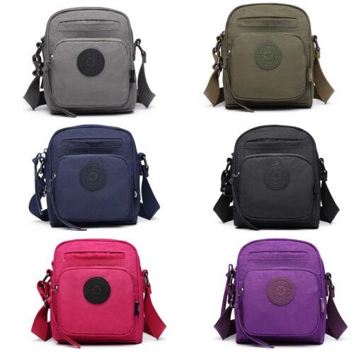 Women Shoulder Bag Satchel Messenger Small Crossbody Bag Nylon Short Hiking