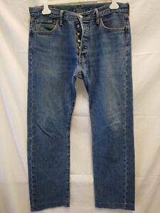 jeans-uomo-Levi-039-s-501-W-34-L-32-taglia-48