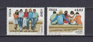 S17220) Italy MNH 2006 Europa, Integration 2v