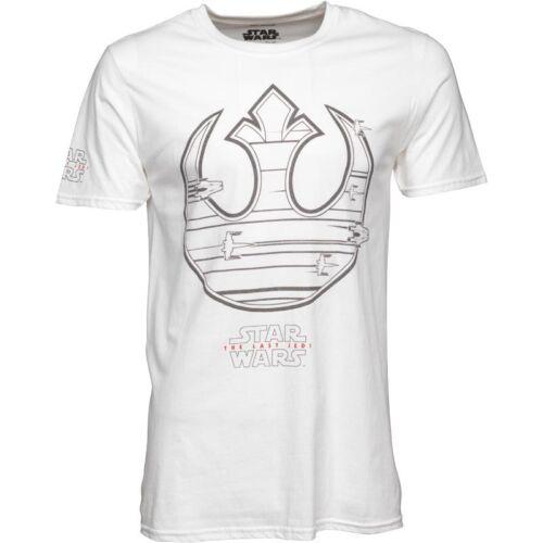 Nave De Star Wars para hombre rebelde icono BNWT Camiseta Blanco Pequeño
